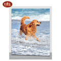 Cute Dog/Animal Design Canvas Painting Hook For Home Decoration
