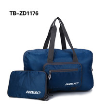 Green Foldable Travel Weekender Bag for Heavy Loaded Pack