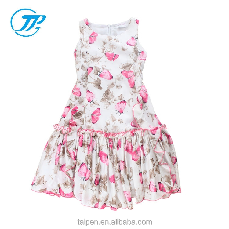 Kids Girls Summer Dresses One Piece Sleeveless Dress Girls Party Dresses
