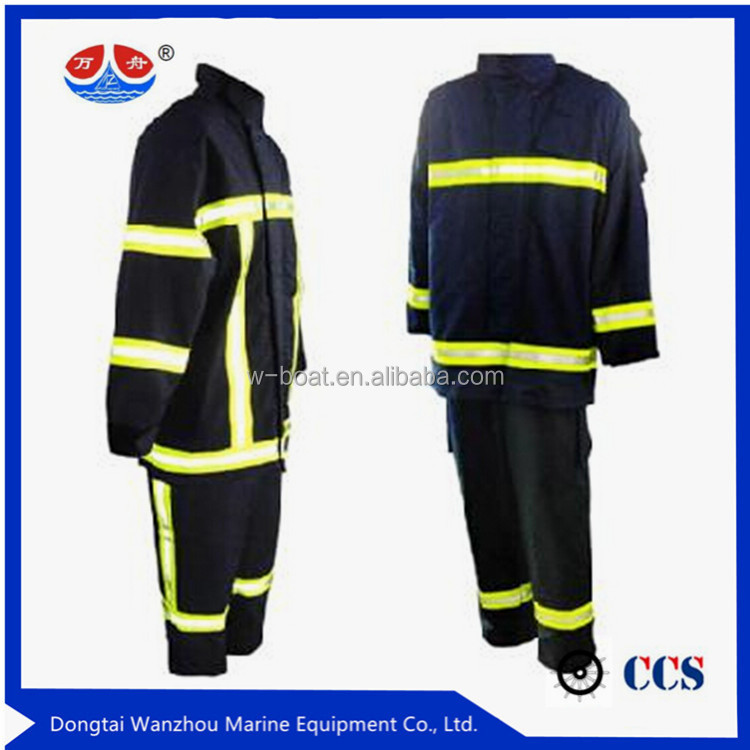 EN 469 Aramid IIIAFire Fighting Clothing Fire Retardant Suit