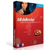 SAVE 30% Bitdefender Total Security 2010 - 1 PC 3 Years