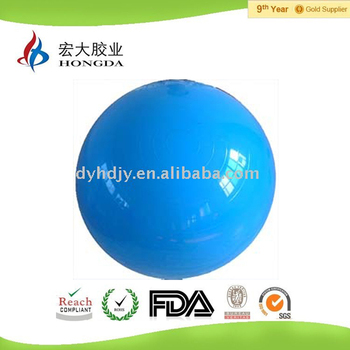PVC 45cm fitness ball with kinds of sizes