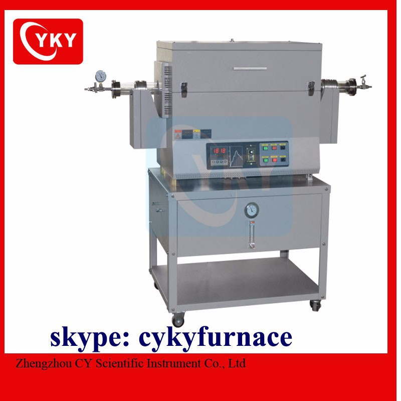 CE certificated high temperature rotary tube furnace / CYKY furnace
