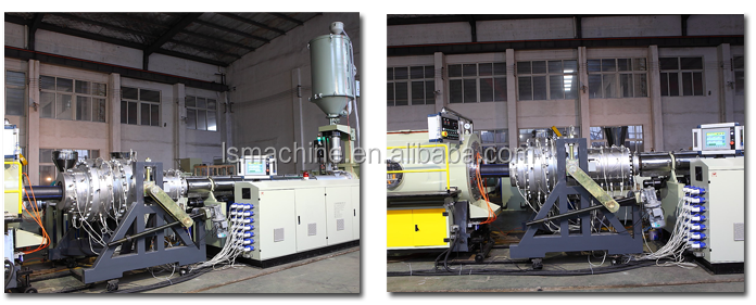 HDPE PP pipe production line plastic machine manufacturer 20-1200mm