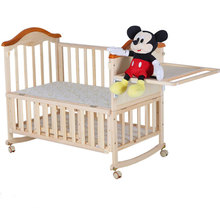 Comfortable baby swing bassinet,solid wood portable cradle baby for wholesale