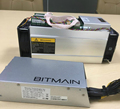 In Stock New BTC Bitcoin S9 Bitmain Antminer Miner Mining With Power Supply E9+ A4+ L3+ PSU APW3 13.5TH/S Bitmain Antminer S9