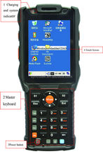 Full VGA Color Extremely Compact Mobile Terminal For Field Service