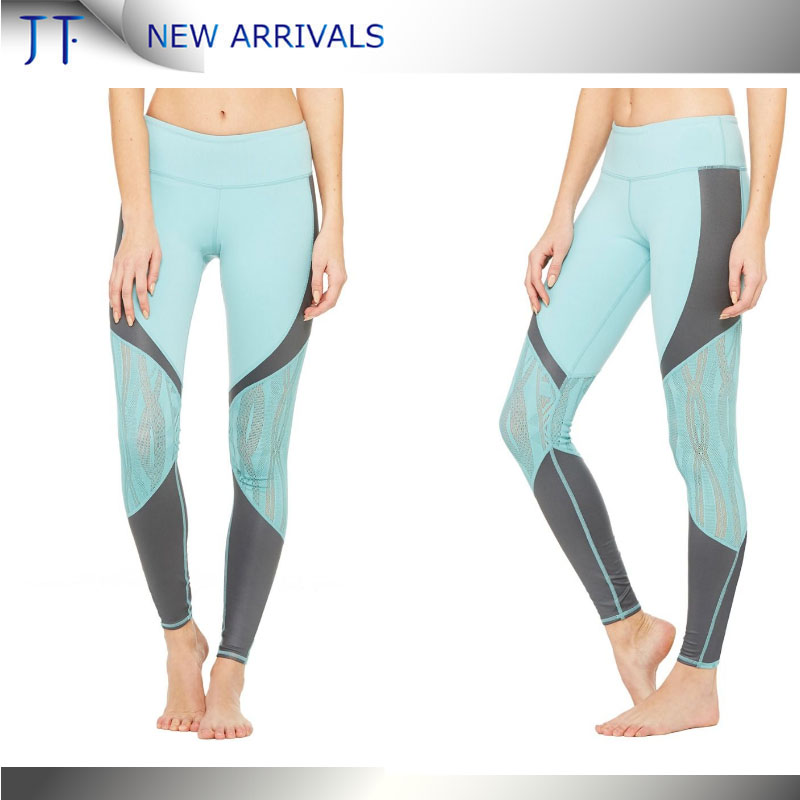 (free sample)OEM 2017 newest high quality yogo pants sexy workout tight sports leggings