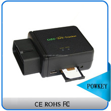 Car OBD II GPS tracker with remotely reading odometer and cumulative mileage