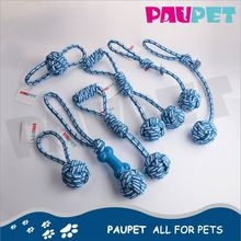 Hot selling factory supply pet bone shape cotton rope