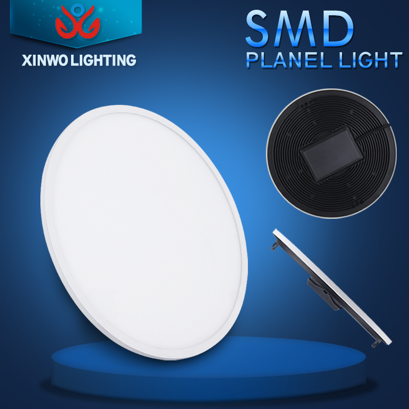 Slim Housing Round Ceiling Flat Led Panel Light 120mm 12W led down light
