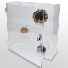 rock collection display case,acrylic glass curio throughout words