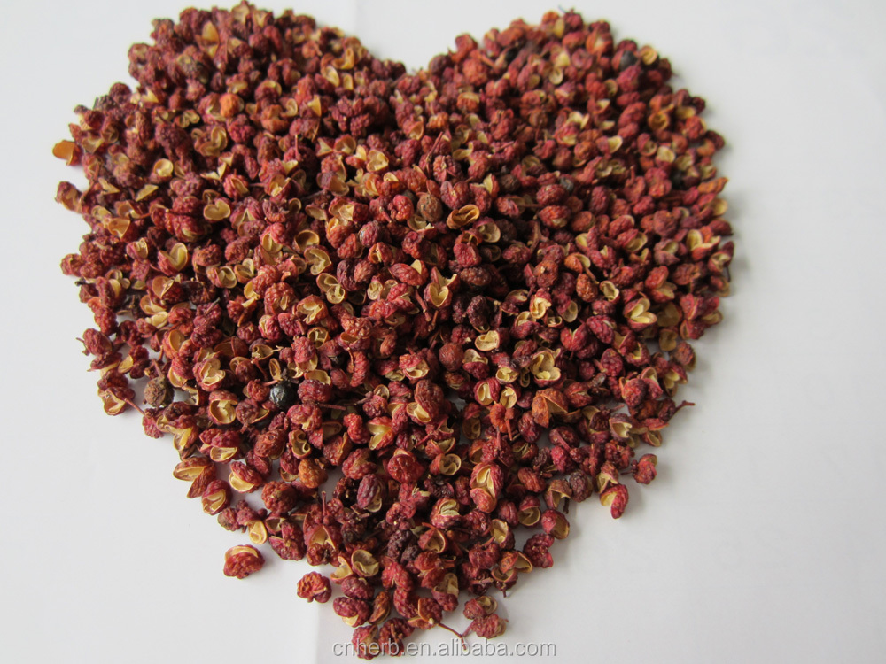 dried and natural red sichuan Pepper