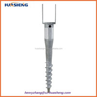 New product High Quality Ground Screw/Earth Anchors/Ground Anchor For Construction