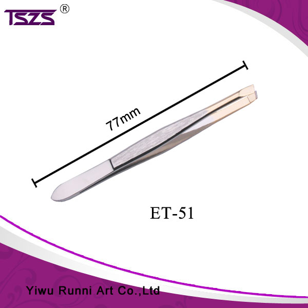 Golden Tip Delicate Cosmetic Kit Surgical Stainless Steel Tweezers