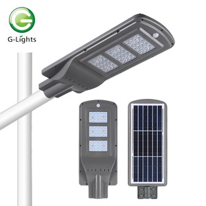 Low power high brightness SMD4545 IP65 60 90 120 180 250 watt led solar street light