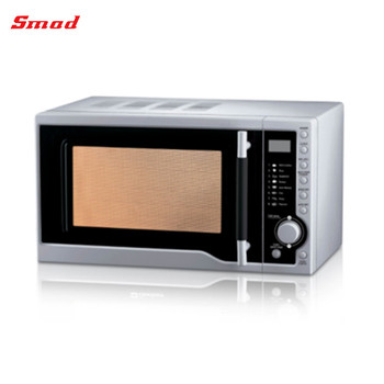 Timer Control Stainless Steel Mini Microwave Oven For Home Use