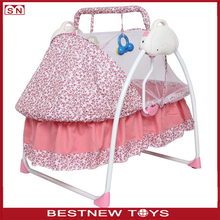 Hot baby furniture hand swing baby rocking crib bed baby cradle