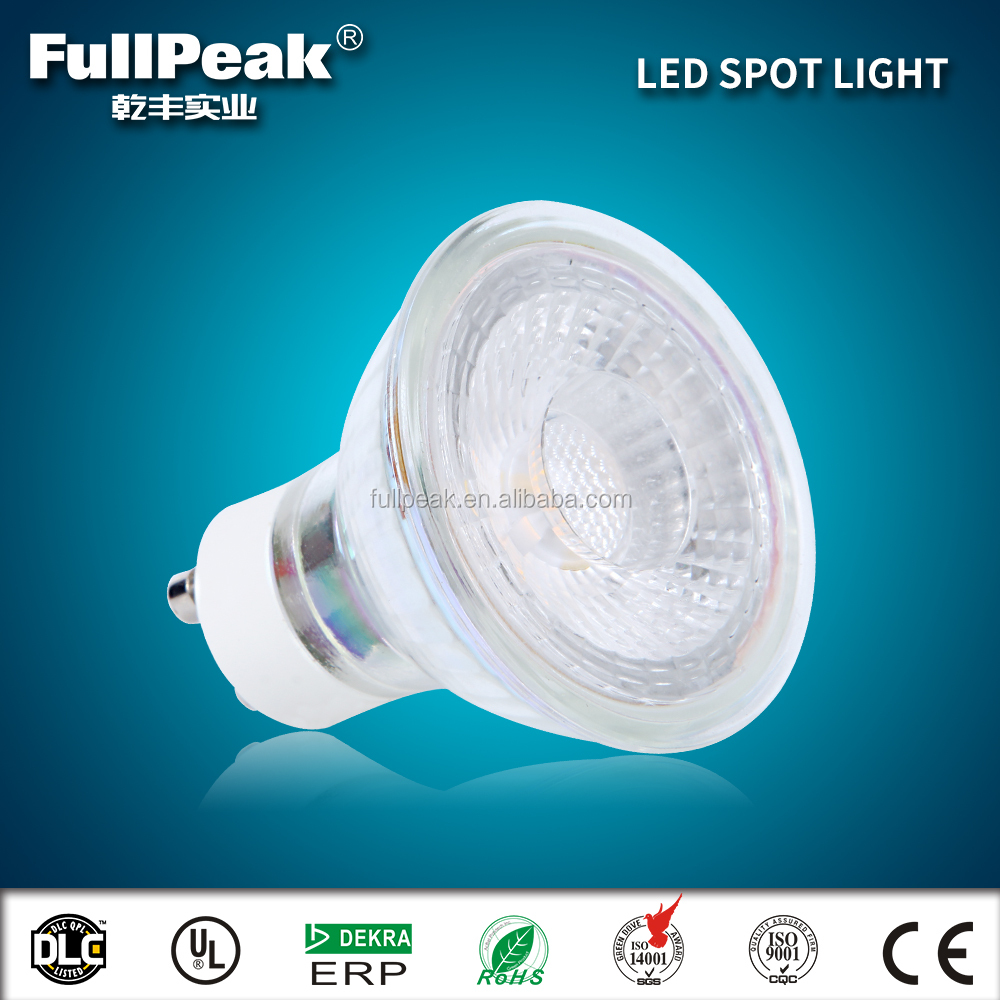 cob led gu10 mr16 5w 7w 10w led spot light bulb 220v 120v hotel lighting