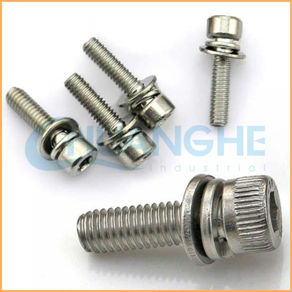 Alibaba China Fasteners captive washer cap screw