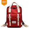 Mochila Wholesale Design Fashion Women Nylon & Leather Back Pack High Quality Backpacks Custom Backpack