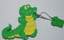 Hotselling Freesample Highspeed alligator usb flash drives