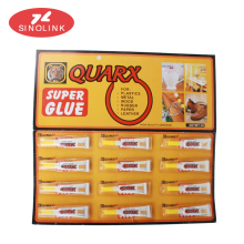 Daily DIY use Super Glue, 502 Super Fast Glue, Cyanoacrylate Adhesive in Tube Packing
