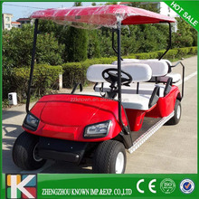 48V battery powered CE approved 4 seats prices electric golf car