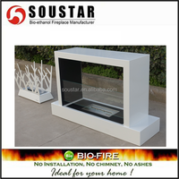 cast iron bioethanol fireplace fireproof material for fireplace