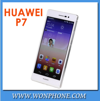 Huawei Ascend P7 4G LTE phone in stock Android 4.4.2 dual SIM smartphone 5.0'' incell ips 1920*1080pix quad core 1.8GHz 2GB ram