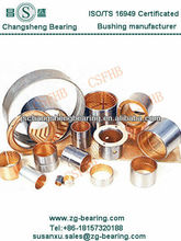 flanged bimetal bushing used high impact condition
