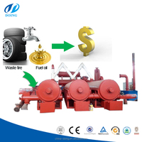 Best price continuous waste plastic to diesel machine/ scrap plastic oil pyrolysis machine