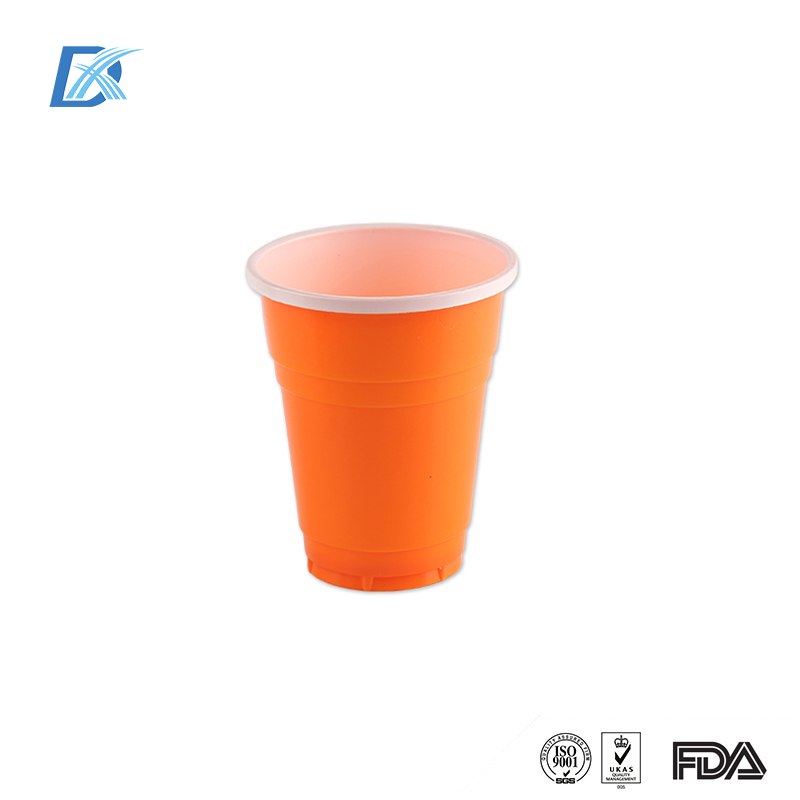 Promotion Custom Color 16oz Disposable PS Plastic Solo Cup