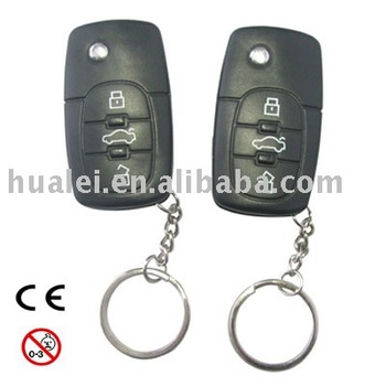 Electric Shocking Car Key with Laser Pointer and LED Light