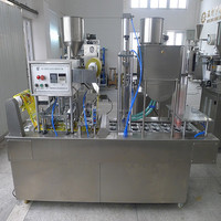 DS-BG32A Automatic plastic cup filling and sealing machine ,juice/jelly packing machine