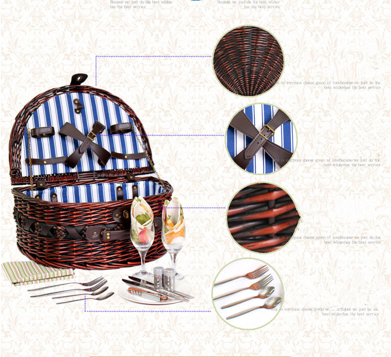 Picnic Basket Business : Folding picnic basket wholesale price business for sale