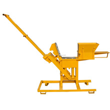 FL1-40 Manual small earth block machine making earth interlocking soil hydraulic brick block moulding making machines for sale