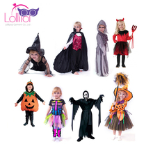 2017 Halloween carnival child's cosplay costume for kids