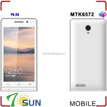 "hot new products for 2014 4.7"" P6 Capacitive Android 4.1 Mtk6572 Dual SIM Smart Phone Wifi GPS Fm alibaba china smartphone"
