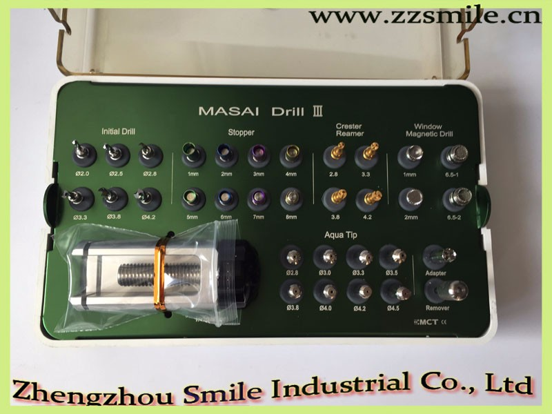 CE/FDA/ISO Approved MAS3-01 Masai Drill Kit/Dental Implant Sinus Lift Kit