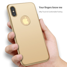 New Coming Best Price Fashion Luxury Simple Phone Accessaries Silky and Matte Hard PC Cell Phone Cover Case for iPhone X