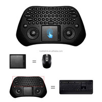 High Quality Measy 2.4G Mini GP800 USB Wireless Touchpad Air Mouse Keyboard For Android PC Smart TV