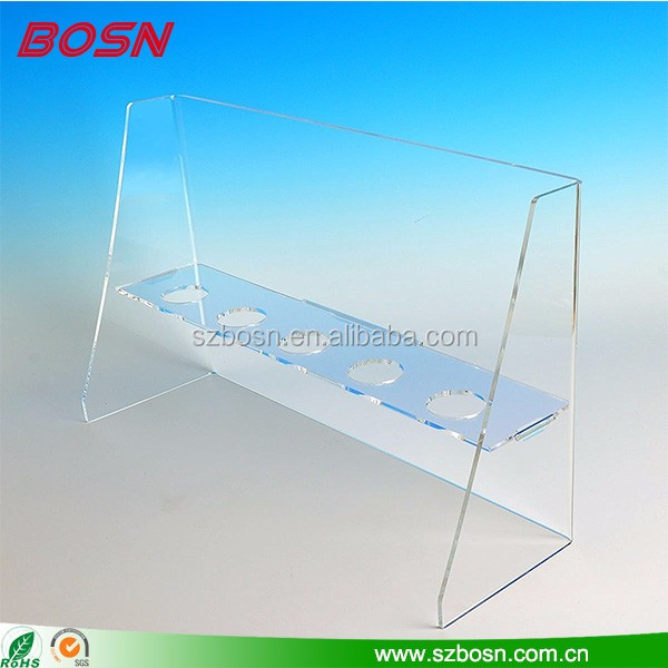 Manufactory custom good quality clear acrylic ice cream cone display cabinet for sale