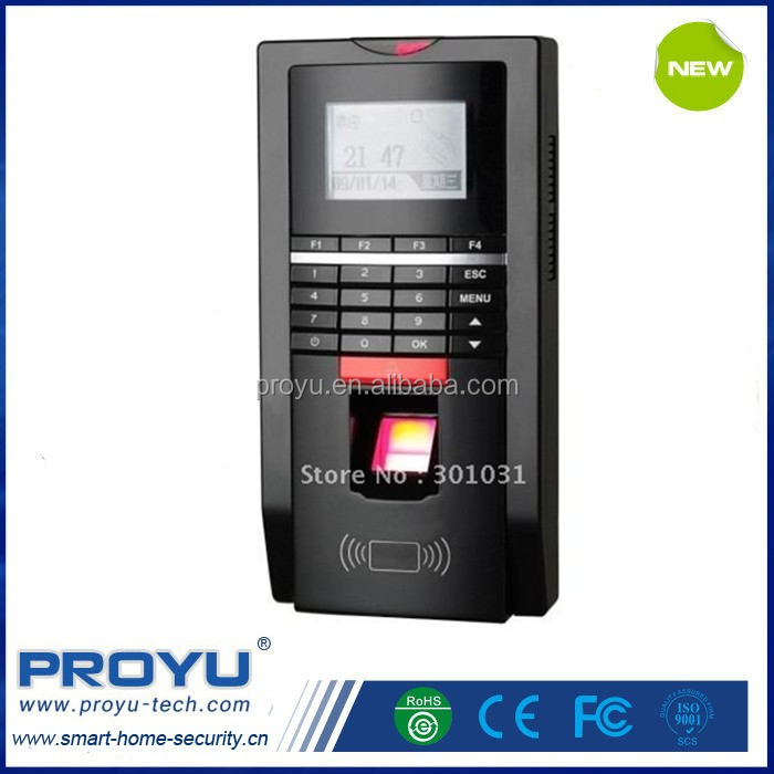 RF card fingerprint biometric time attendance access controller kit Magnetic Lock, ZL bracket, door button, power supply
