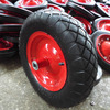 small metal cart wheels for wheelbarrow,cart and trolley