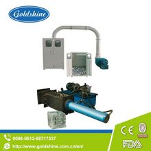 Goldshine Aluminum foil scrap collecting device and baler foil dishes making machines
