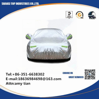 Multi function Vehicle UV Sunshade Waterproof Dustproof Fabric Car Cover