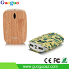2016 consumer electronics real capacity fast charging wooden power bank 7800mAh, dual usb power bank for iphone 6 / 6 plus