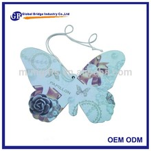 Good price of promotional paper car air freshner OEM