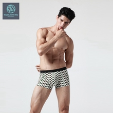 Custom Hot sexy open sides plain white cotton mens underwear boxer briefs sexy gay mens underwear